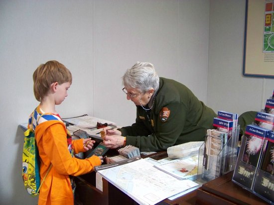White House Visitors Center: Park Ranger @ Temporary Visitor's Center