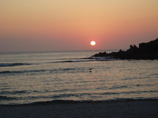 The St. Regis Punta Mita Resort: Great way to end the day....