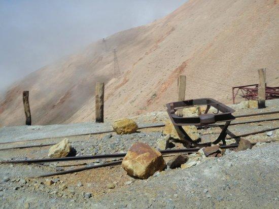 La Mejicana Mine: A  4600 msnm
