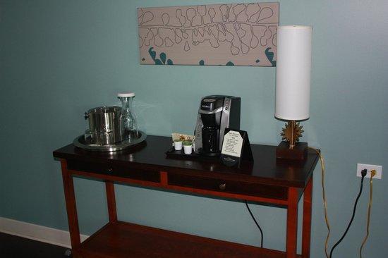 Hotel Indigo Asheville Downtown: K-Cup Coffee