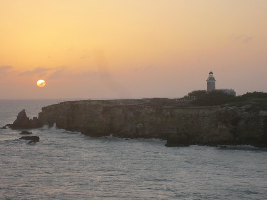 Cabo Rojo, Πουέρτο Ρίκο: View of lighthouse from beach