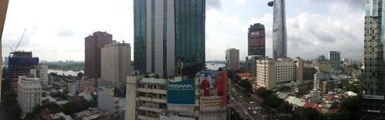 Palace Hotel Saigon: Panorama from my room 1303