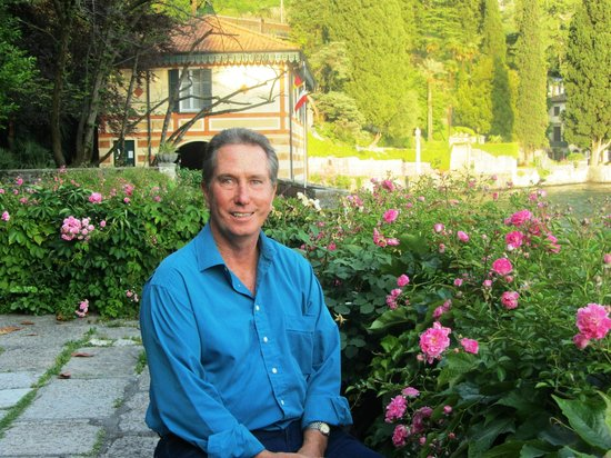 Hotel Villa Cipressi: Rose garden