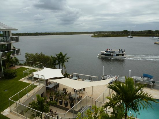 Noosa Shores Resort: View from apartment