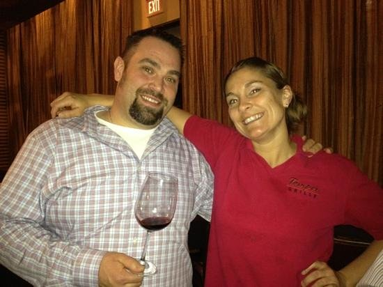 Temper Grille: owner Sean Kelley and Head Waitress Brandy