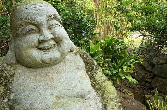Natural Stone Garden: Buddha Statue