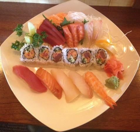 Chef Leu's House: sushi sashimi