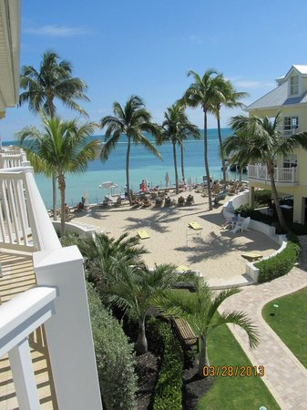 Southernmost Beach Resort: view from room