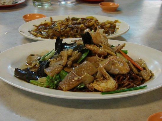 Swee Huan Seafood Restaurant: Seafood noodle