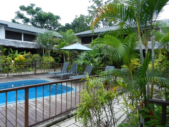 Village de Santo Resort: Courtyard and pool