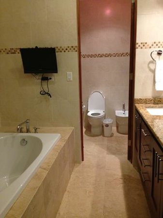 Ciqala Luxury Suites: 2nd bathroom