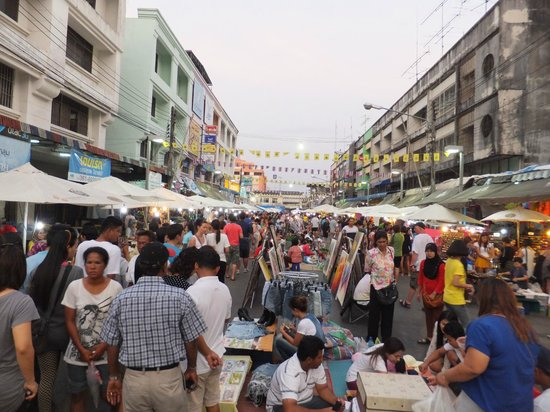 Krabi La Playa Resort: Krabi Town - Night Market on Friday, Saturday & Sunday