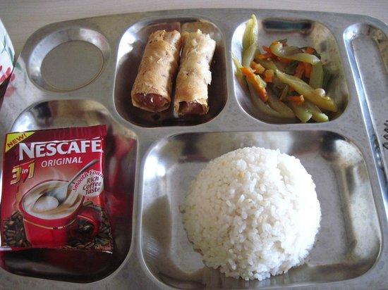 Homitori : Complimentary breakfast