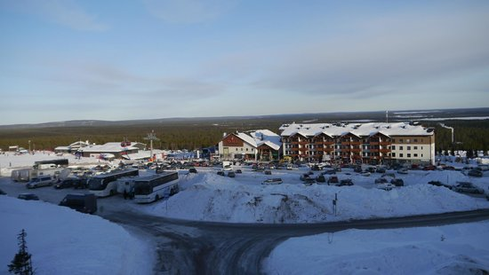 Lapland Hotel Saaga: View from the room balcony