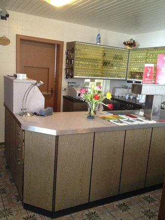 "Hotel Garni Viktoria : ""Reception"""