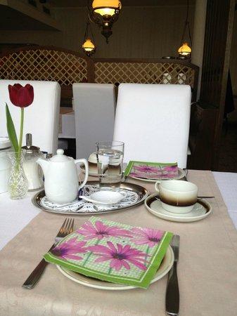 Hotel Garni Viktoria : Frühstück