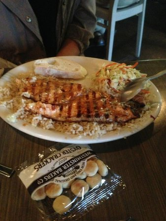 California Fish Grill: salmon