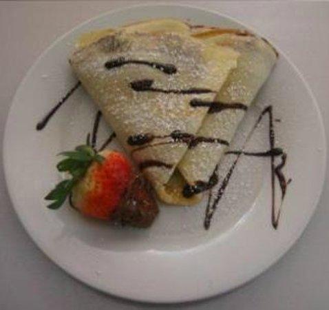Le Fromage: Crepes de nutella con fresas!