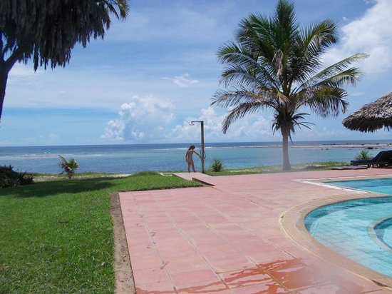 Protea Hotel Amani Beach: View from the pool