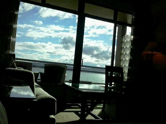Millennium Hotel and Resort Manuels Taupo: Stunning view from Jr King Suite on first floor!