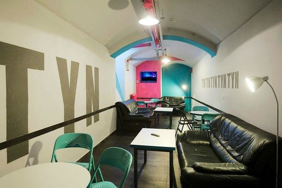 Hostel Prague Tyn common areas