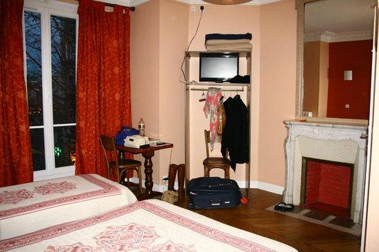 Hotel Baudin: Doppelzimmer