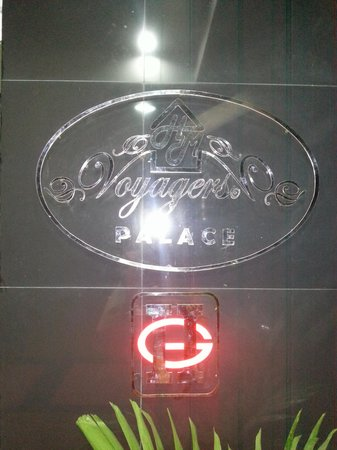 voyagers palace name plate