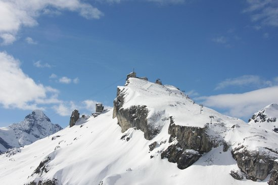 Eiger Guesthouse: paysage