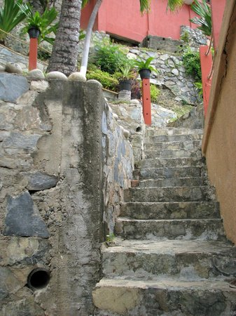 Hotel Irma: Irma's stair case