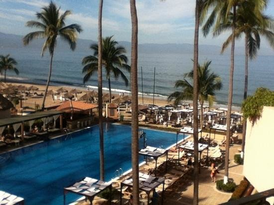 ‪‪Crown Paradise Golden Resort Puerto Vallarta‬: Vista desde la habitación‬