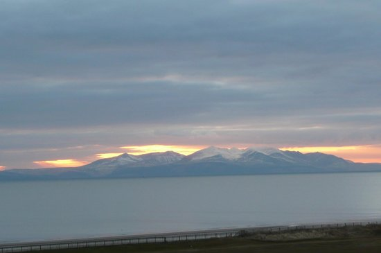 The Marine Hotel: View to Arran