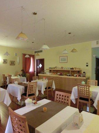 Hotel C25: sala colazione