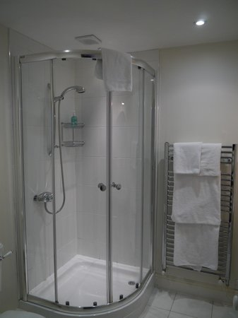 George Hotel: Room 22 - brilliant shower
