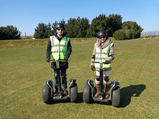 Cornwall Segway: Another shot for our Segway album