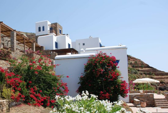 Andros Prive Suites : view