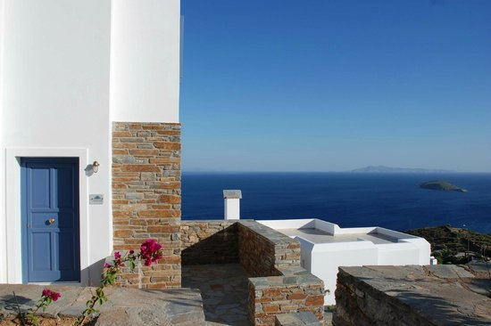 Andros Prive Suites : sea view