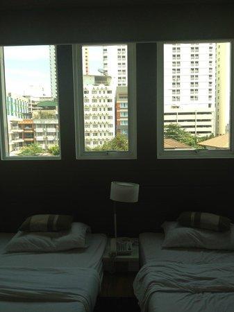 The Period Pratunam: large windows