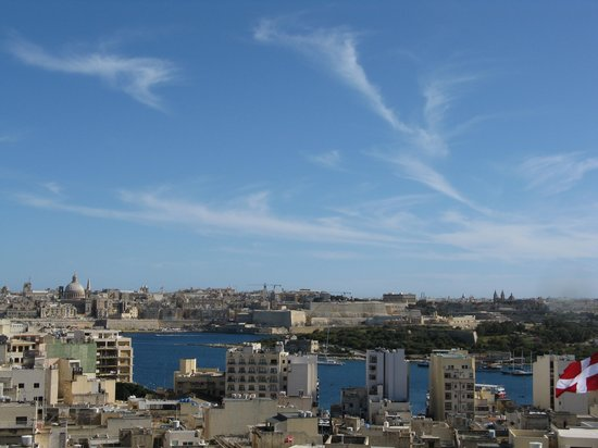 The Palace: View of Valletta from the room