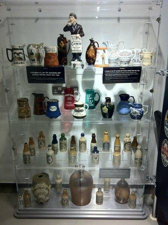 Penderyn Distillery: Vintage whisky decanters and bottles