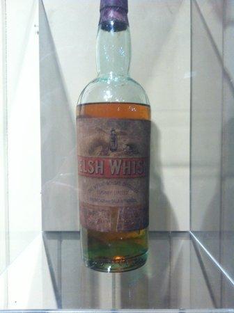 Penderyn Distillery: 118 year old whisky - no tasting allowed.