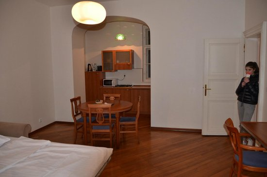 Residence Masna - Prague City Apartments : Pranzo/cottura
