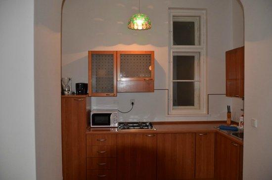 Residence Masna - Prague City Apartments : Zona cottura