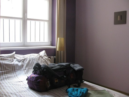 Heynow Hostel : Room + my back