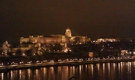 Budapest Marriott Hotel: View from executive lounge