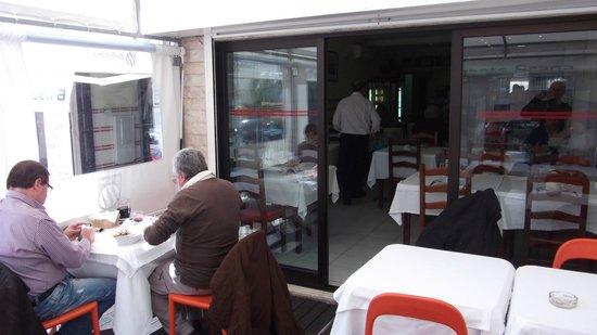 Restaurante Braga: a sala exterior