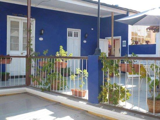 Hostal La Casona de Jerusalén: Zugang zu den Zimmern 1
