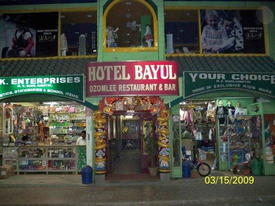 Hotel Bayul: The hotel entrance