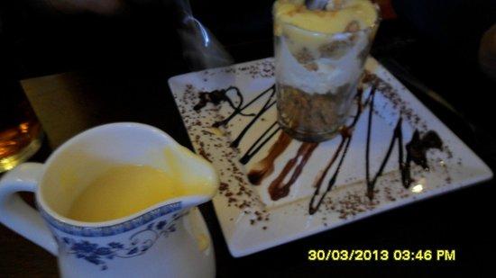 The Bluebell Inn: Cheesecake Crumble