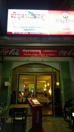 Limoncello Pizzeria & Restaurant : from street