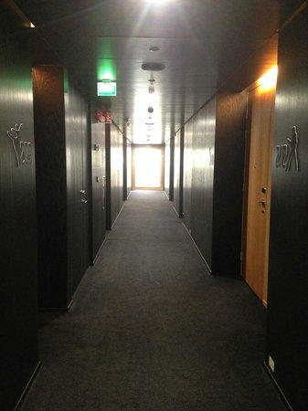 Scandic Paasi: Hallway